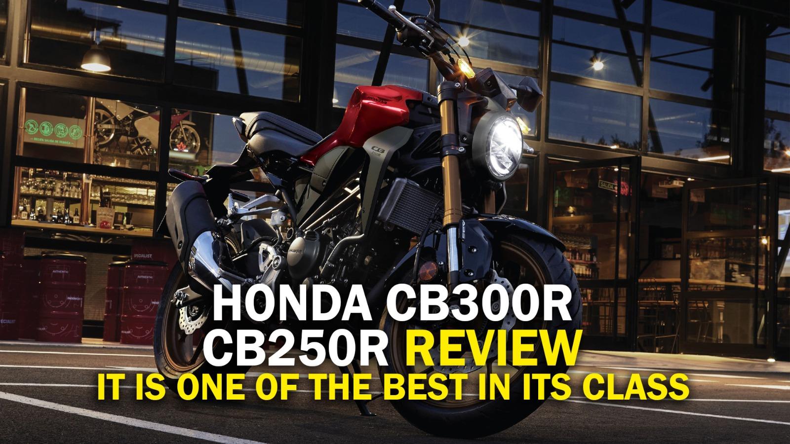 Honda CB250R / CB300R Review