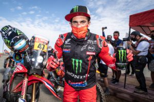 Kevin Benavides wins the 2021 Dakar