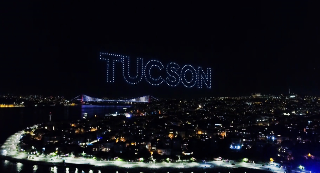 Hyundai Tucson Drone Gösterisi-2