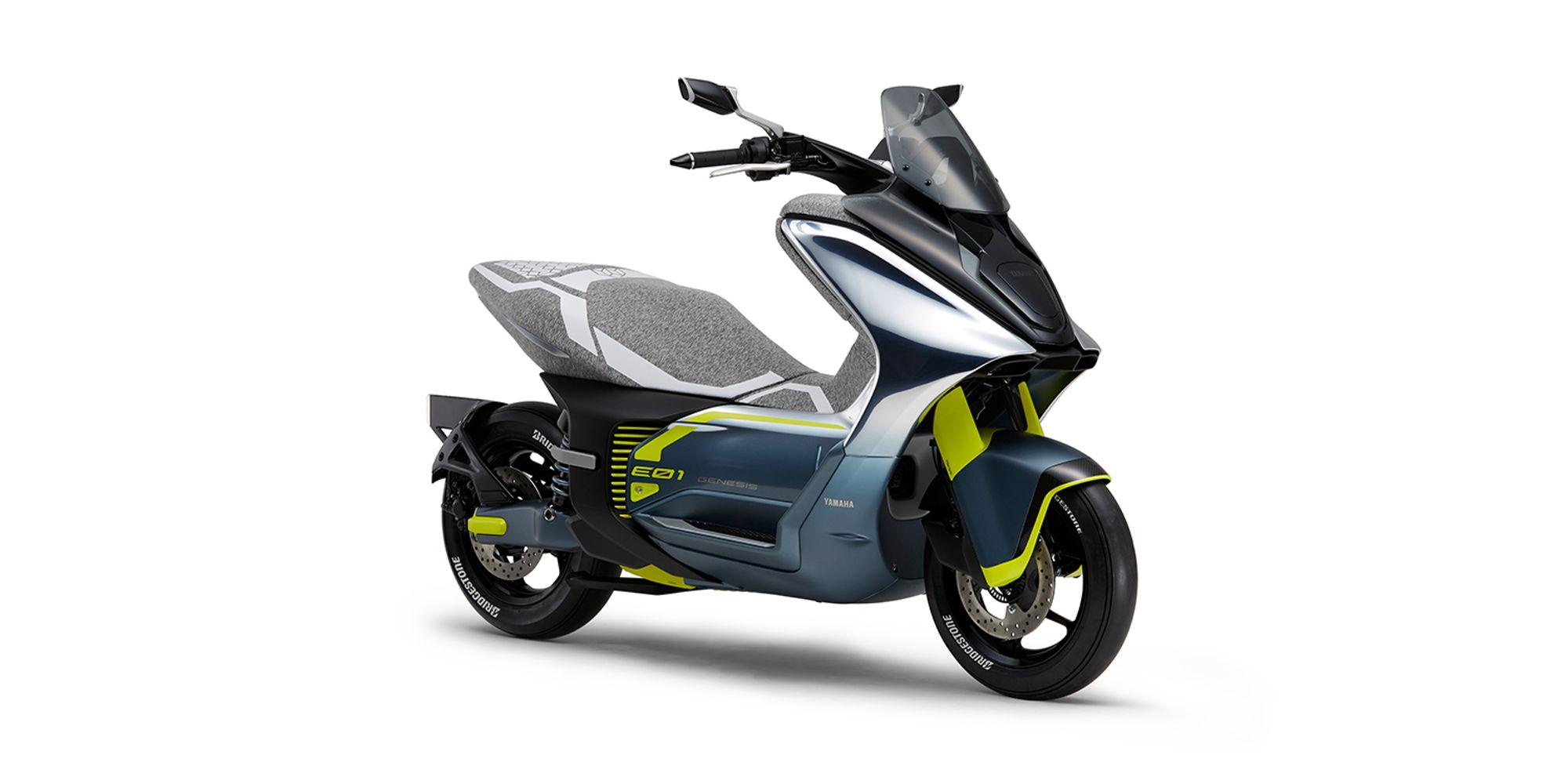 Yamaha E01 Elektrikli Scooter