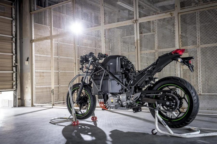 Kawasaki Endeavor Elektrikli Motosiklet Projesi