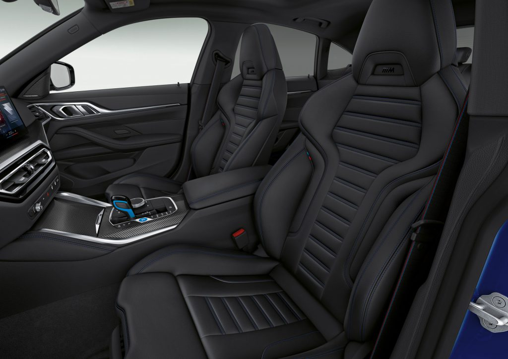 BMW i4 Koltukları