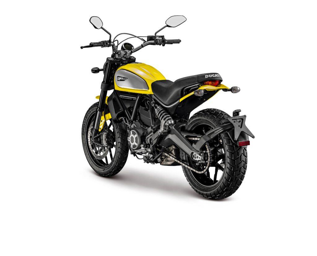 Ducati Scrambler Icon Arka