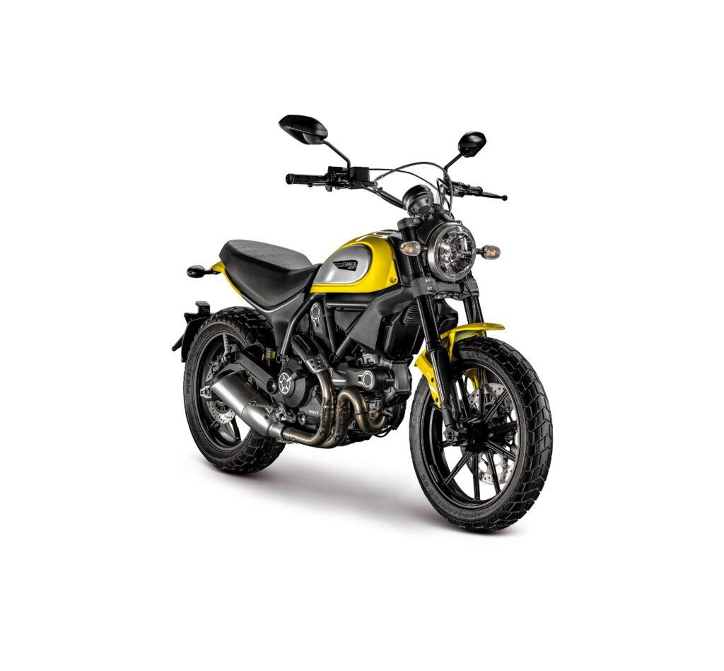 Ducati Scrambler Icon Ön